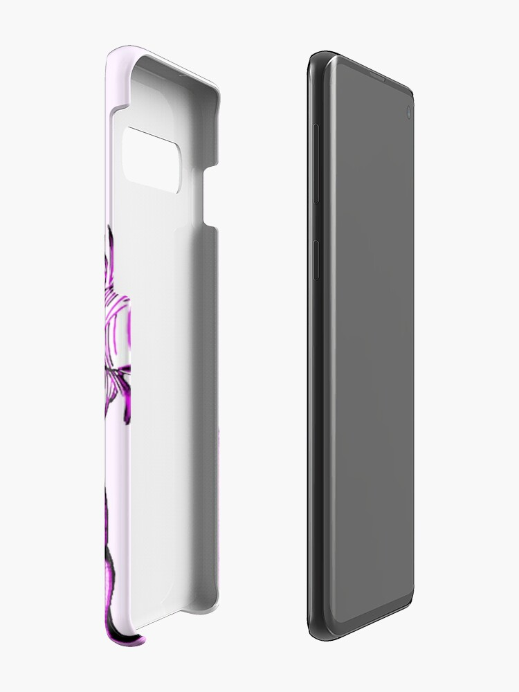 Alternate view of LEWD (PINK) - Sad Japanese Anime Aesthetic Case & Skin for Samsung Galaxy