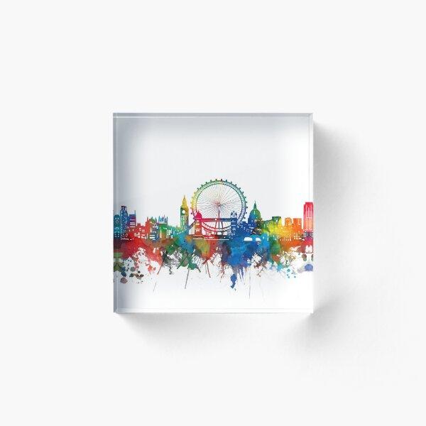 london skyline Acrylic Block