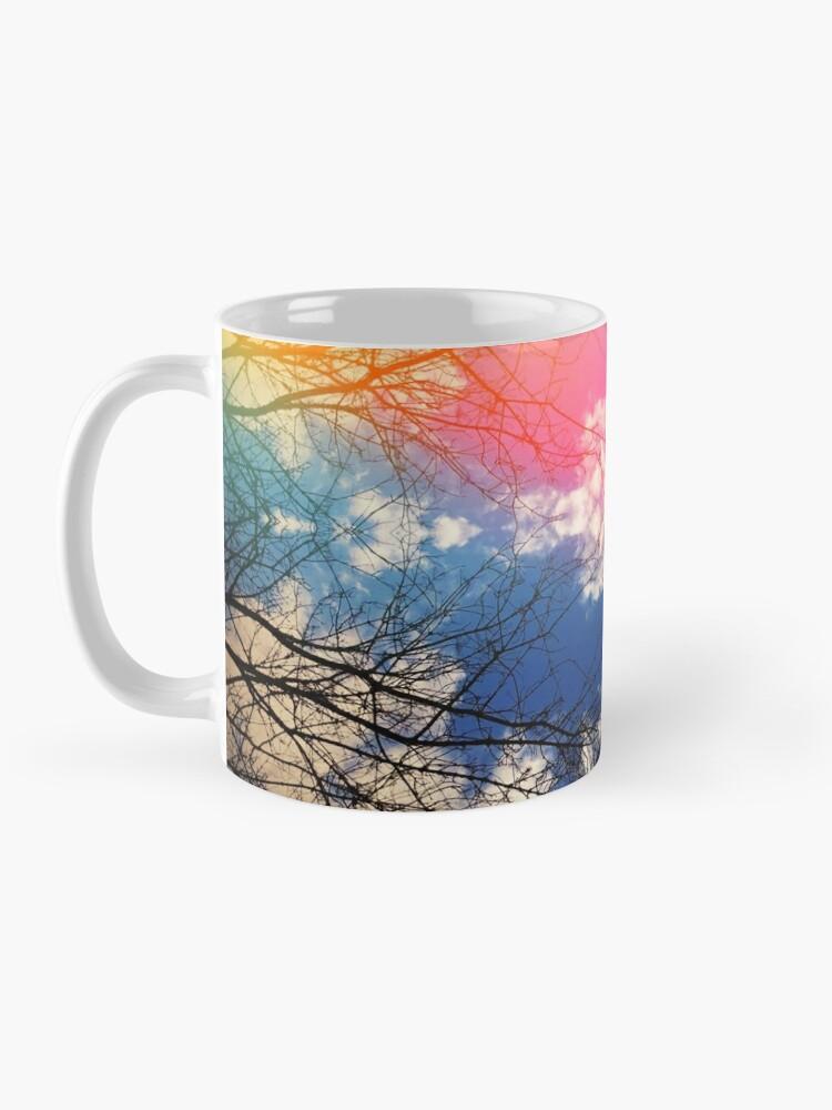 Alternate view of Cloudburst tree kaleidoscope Mug
