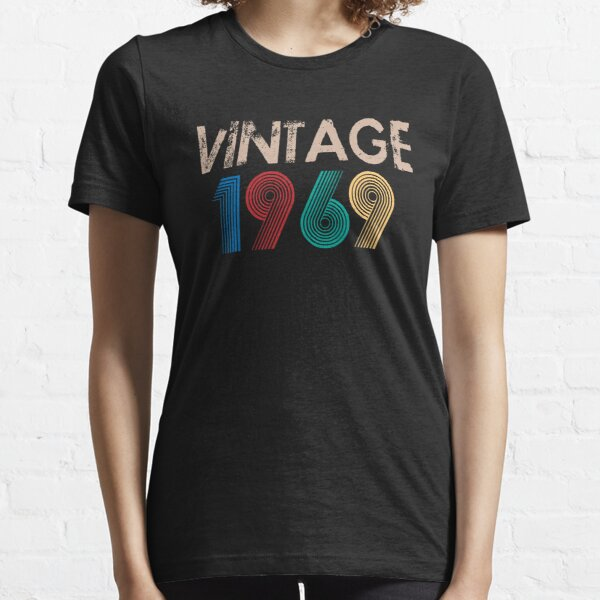 Vintage 1969 - 50th Birthday Gift For Men Essential T-Shirt