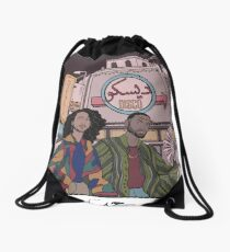 DISCO SAUDI Drawstring Bag