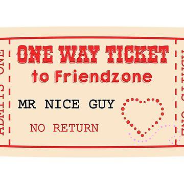 One Way Ticket to Friendzone by qqqueiru