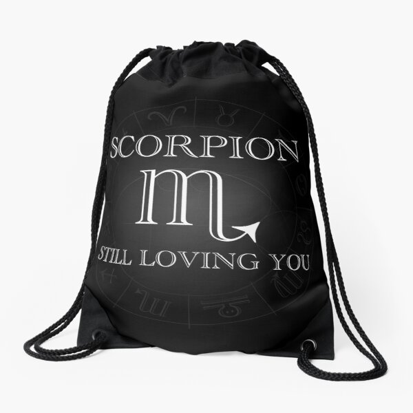 Scorpion - Still loving you - Horrorscope  Sac à cordon