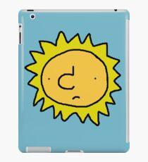 Unhappy Sun iPad Case/Skin