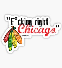 Corey Crawford strikes again Sticker