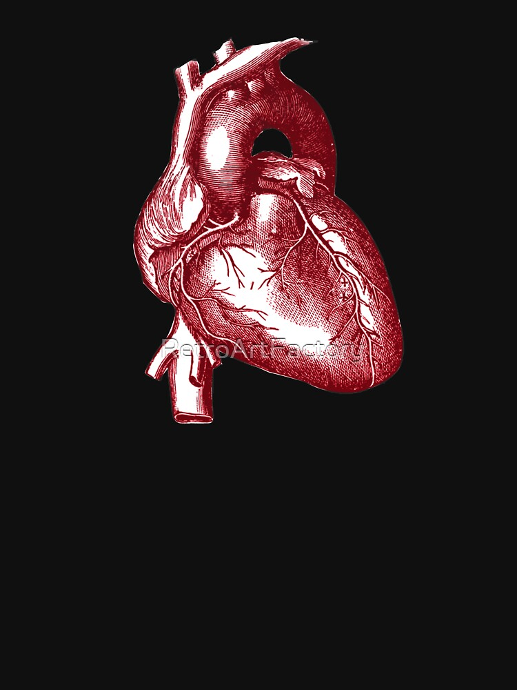 Vintage Heart Graphic by RetroArtFactory