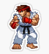 Ryu - Street Fighter Sprite Sticker