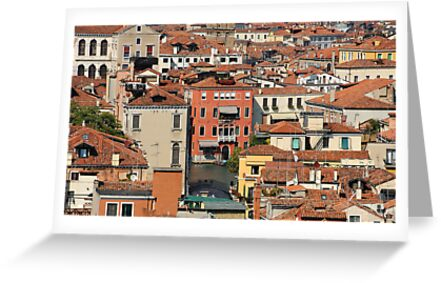 Venice From Above by Jacinthe Brault