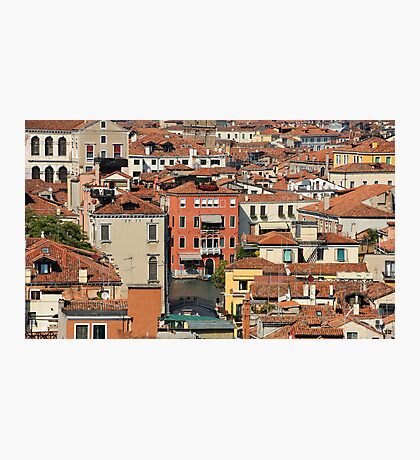 Venice From Above Photographic Print
