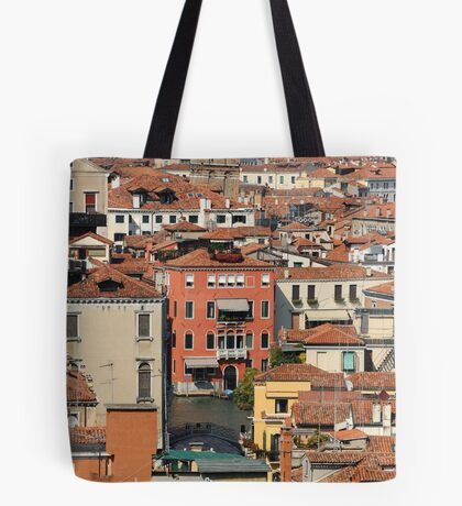 Venice From Above Tote Bag
