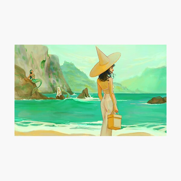 sea witch Photographic Print