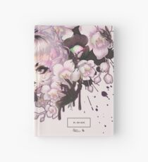 black orchid Hardcover Journal