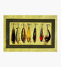 Grandpa's Lures Photographic Print