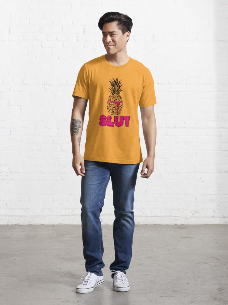 Alternate view of Pineapple Slut Essential T-Shirt