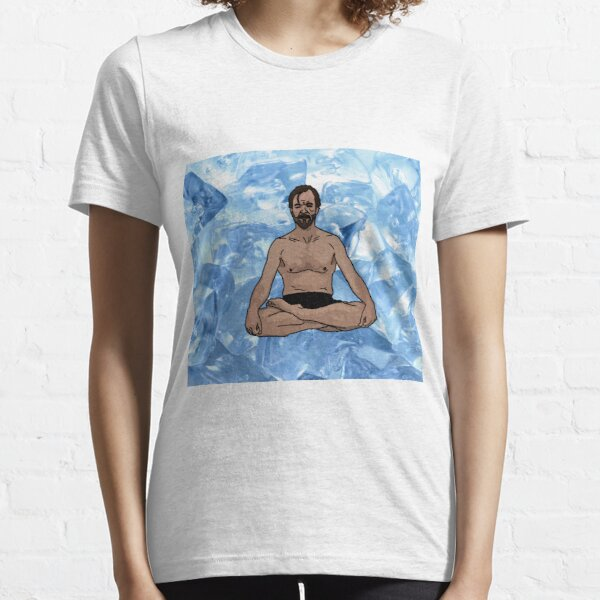 "Wim Hof ""The Iceman"" Essential T-Shirt"