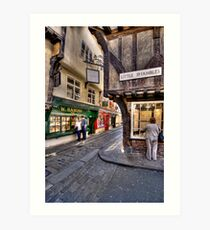Little Shambles Art Print