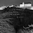Poetry On Castle Rock by Andrew Ness - www.nessphotography.com