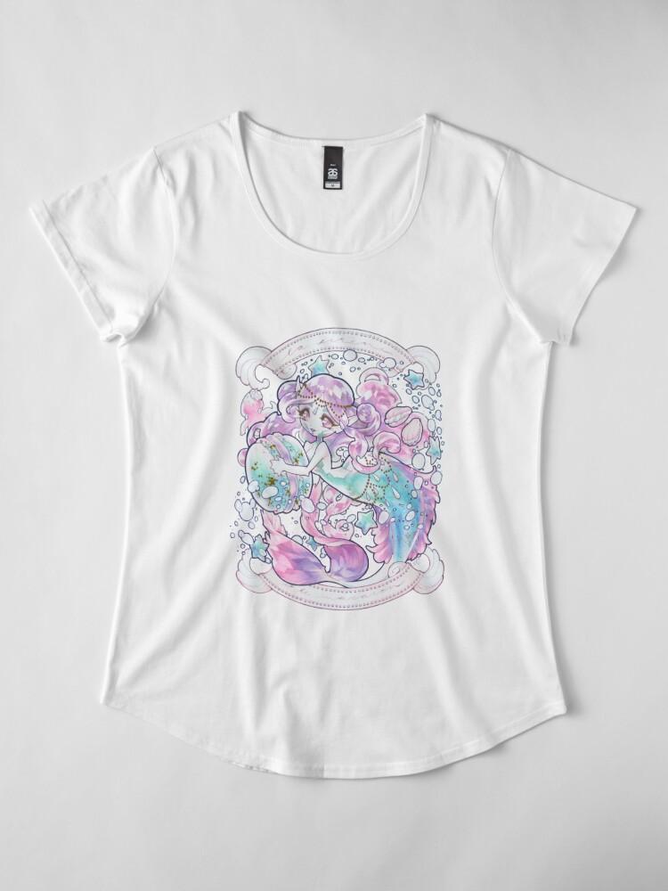 Alternate view of sirene Premium Scoop T-Shirt