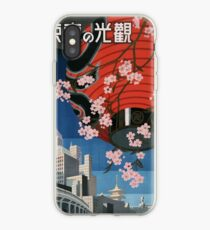 Japan Vintage Travel Poster! iPhone Case
