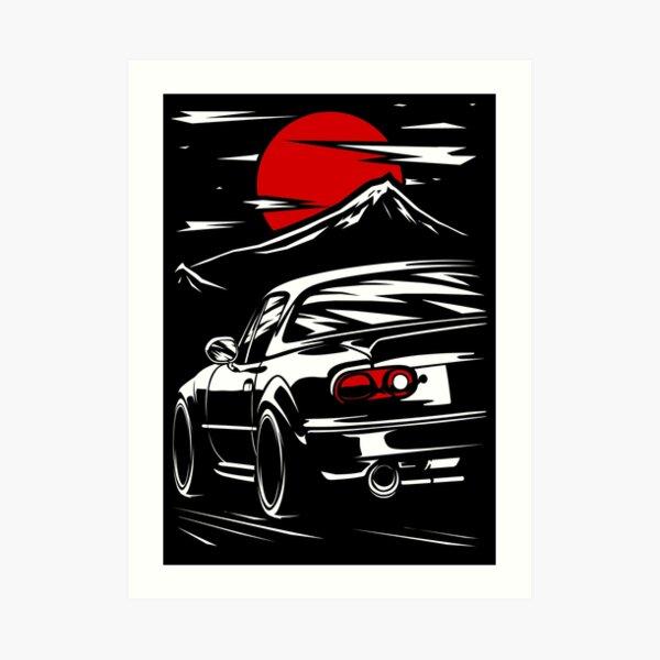 Mazda MX-5 Miata Art Print