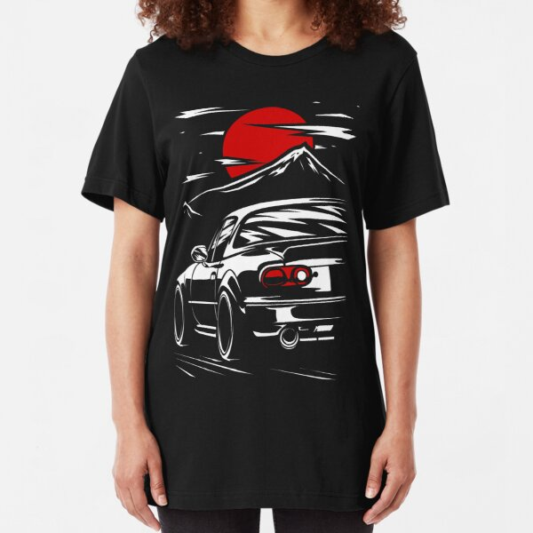 Mazda MX-5 Miata Slim Fit T-Shirt