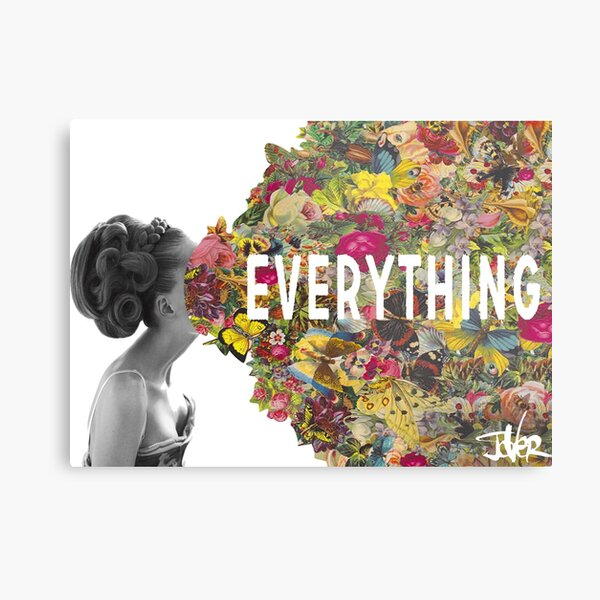 everything counts Metal Print