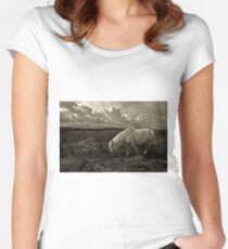 Grazing the Moors  Women's Fitted Scoop T-Shirt