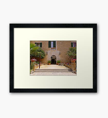 Es Port.............................Majorca Framed Print