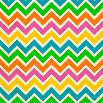 Multi, color, chevron,zig zag,pattern by love999
