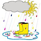 Rain Boots by DesignsByDebQ