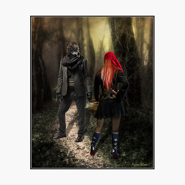 Little Red Riding Hood (2010) Photographic Print