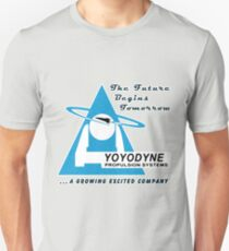 Yoyodyne Propulsion Systems - with slogans! Unisex T-Shirt
