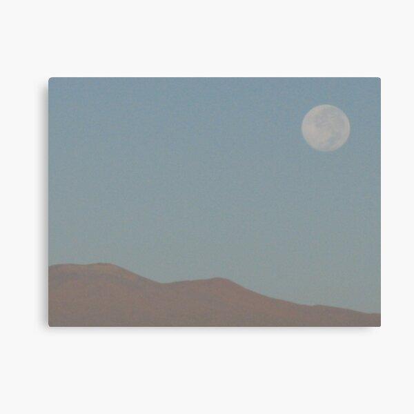 Full Moon over Mauna Kea Canvas Print