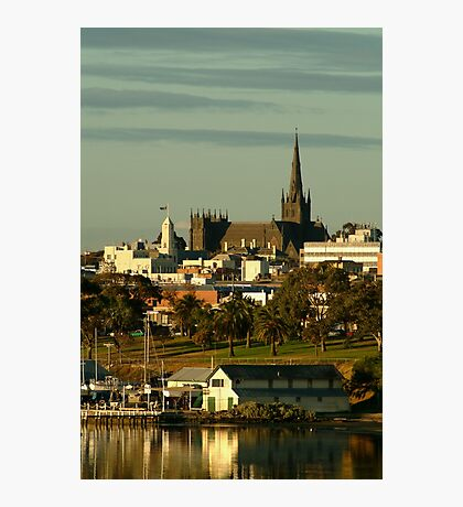 St Mary's Basilica,Geelong Photographic Print