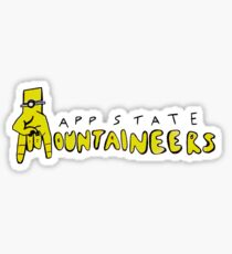 Mountaineers Rock On Sticker