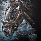 Heavy horse by Robert David Gellion