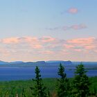 Lake Superior, Ontario by Elfriede Fulda