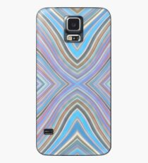 Wild Wavy X Lines 52 Case/Skin for Samsung Galaxy