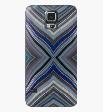 Wild Wavy X Lines 53 Case/Skin for Samsung Galaxy