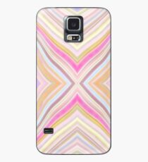 Wild Wavy X Lines 54 Case/Skin for Samsung Galaxy