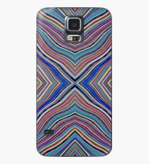 Wild Wavy X Lines 62 Case/Skin for Samsung Galaxy