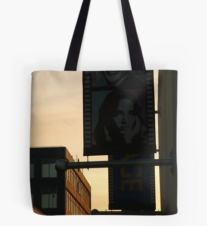 Back Alley,Movie Theatre Banners,Geelong Tote Bag