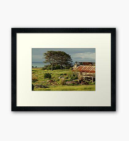 Time Capsule,Bellarine Peninsula Framed Print