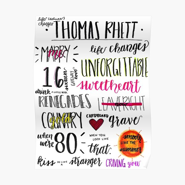 Thomas Rhett: Life Changes (Deluxe Edition) Poster