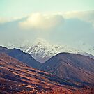Dusk Descends on the Mountains by Cloudlingpics