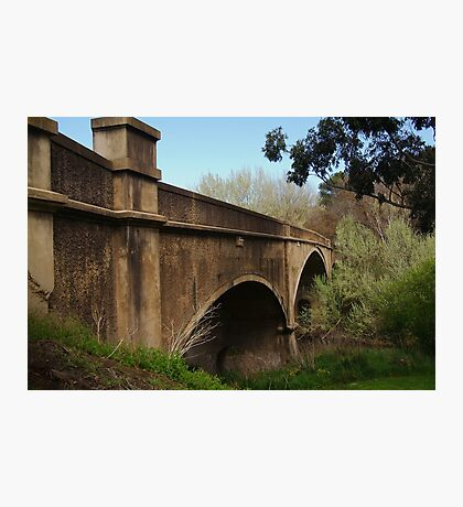 Fyansford Bridge,Geelong Photographic Print
