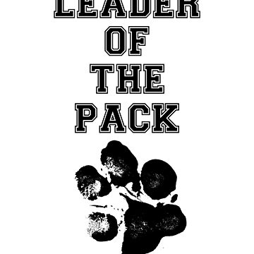 Leader of the pack dog lover owner trainer gift t shirt T-Shirt by Johannesart