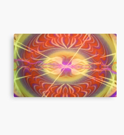 Face in the Universe Canvas Print
