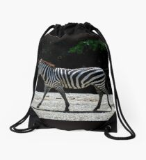 Zebra - Roger Williams Park Drawstring Bag