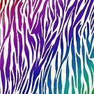«estampado de cebra colorido» de colleneconrad